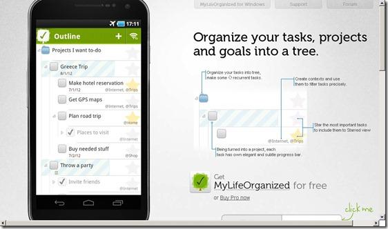 My Life Organized