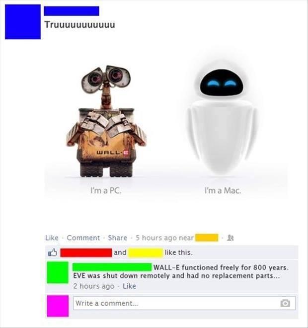 I am a PC....