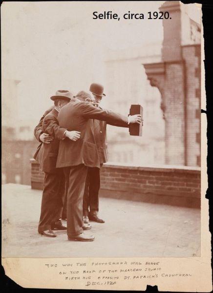 The Origin of the Selfie